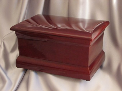 Polished Cherry | Mark Memorial Funeral Services